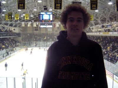 Hockey - Yost Ice Arena, Ann Arbor, MI